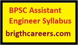 BPSC Assistant Engineer Syllabus 2019 BPSC Exam bpsc bih nic in