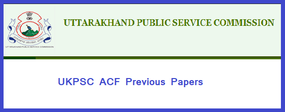 Ukpsc Acf Previous Papers Pdf Download Question Papers
