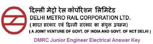 DMRC Jr. Engineer Electrical Answer Key 2020 Download ...